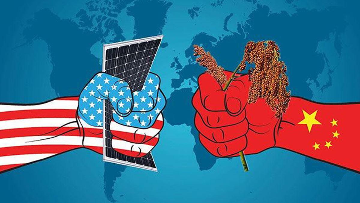 Mỹ - Trung đang có màn đối đầu khá căng thẳng.