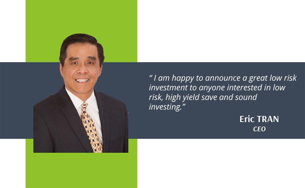 Lời cam kết của ông Eric TRAN – CEO của UCC.