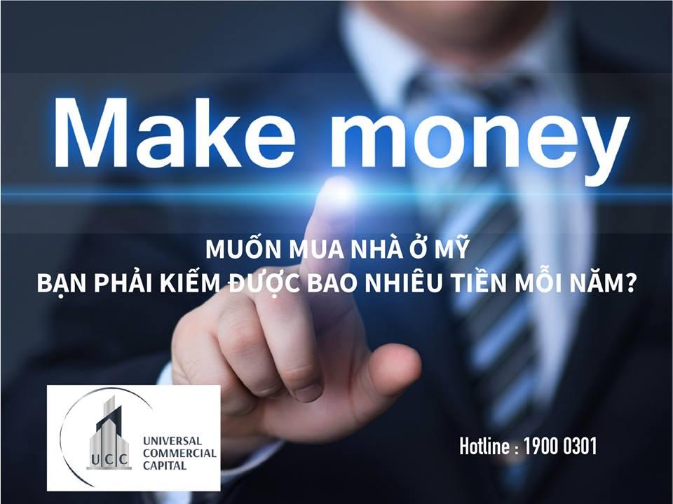 Muốn mua nhà tại Hoa Kỳ, thu nhập của bạn phải đáp ứng được yêu cầu.