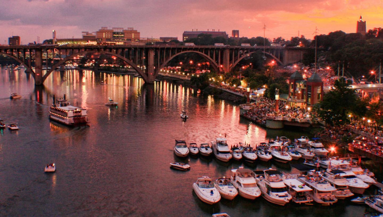 Nơi tốt nhất để sống ở Mỹ - Knoxville, Tennessee
