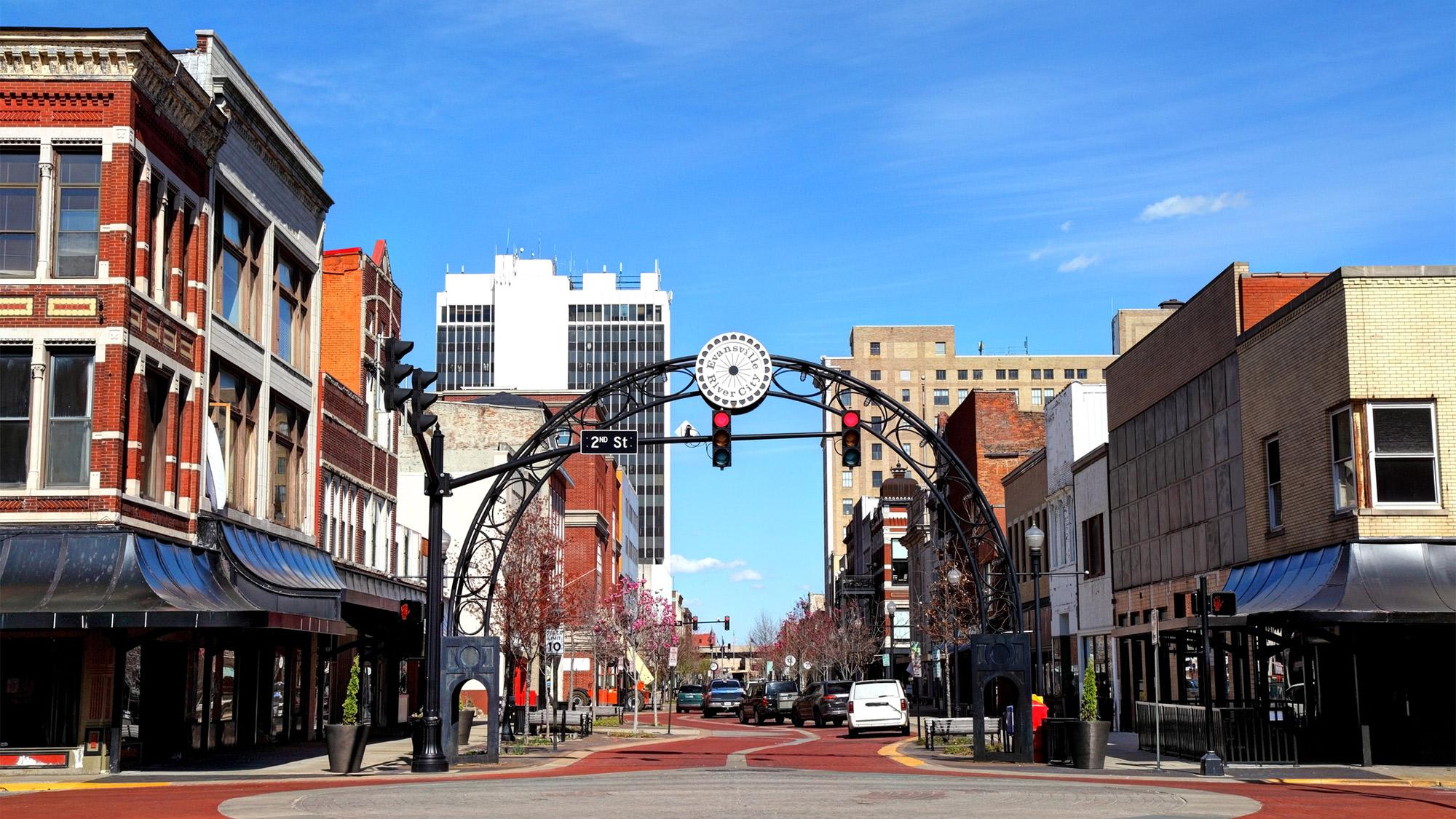 Nơi sống tốt nhất ở Mỹ - Evansville, Indiana