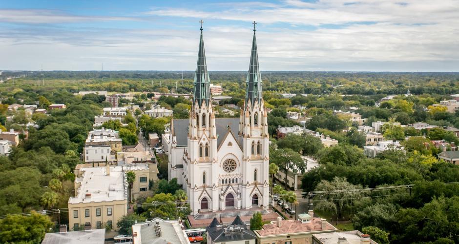 Nơi sống tốt nhất để sống ở Mỹ - Savannah, Georgia