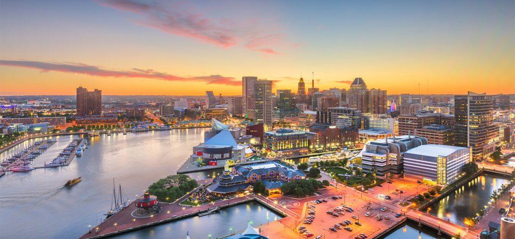 Nơi sống tốt nhất ở Mỹ - Baltimore, Maryland