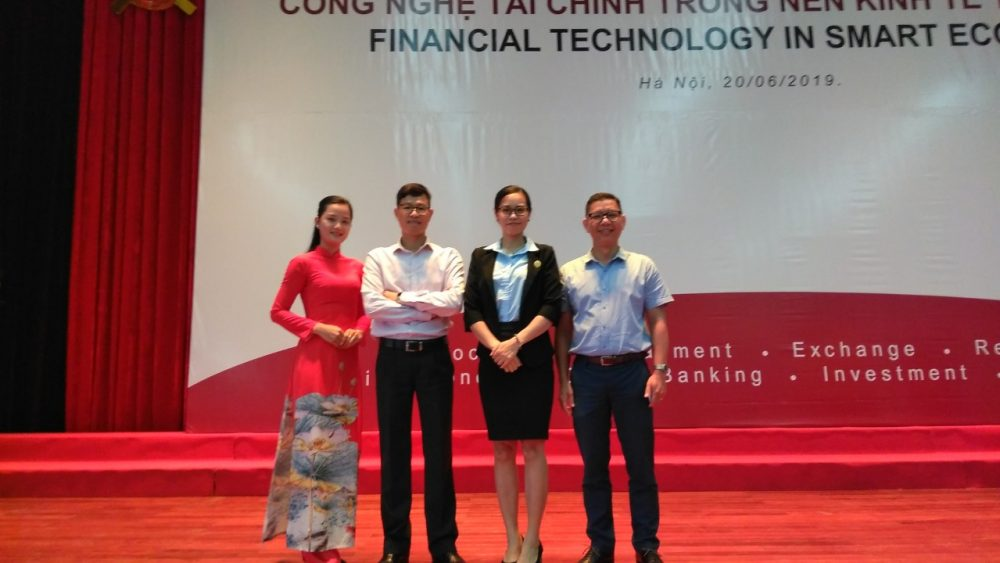 Nhà tài trợ cho hội thảo quốc tế về công nghệ tài chính trong nền kinh tế thông minh tháng 6 năm 2019